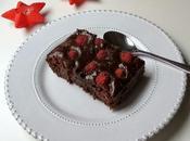 Brownie frambuesas