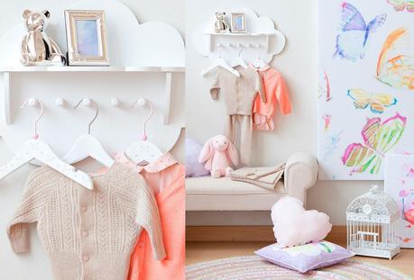 Coleccion primavera 2014 en tonos pasteles de zara home for Zara home toallas bano