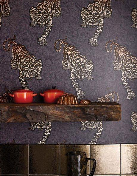 Ideas para decorar con papel pintado paperblog for Papel pintado para decorar