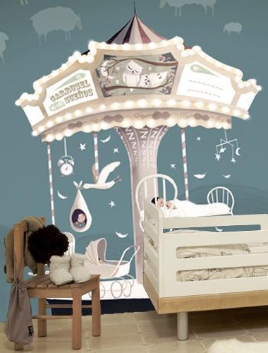 Ideas para decorar con papel pintado paperblog for Papel pintado tres dimensiones