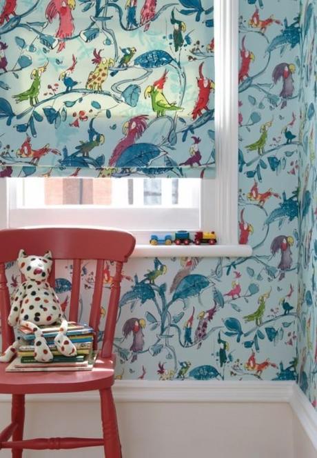 Ideas para decorar con papel pintado paperblog - Ideas papel pintado ...