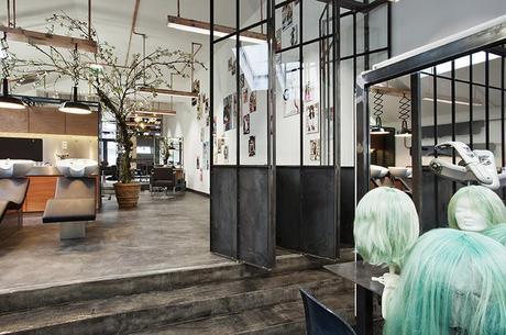 Un sal n de peluquer a de estilo industrial paperblog - Salon estilo industrial ...