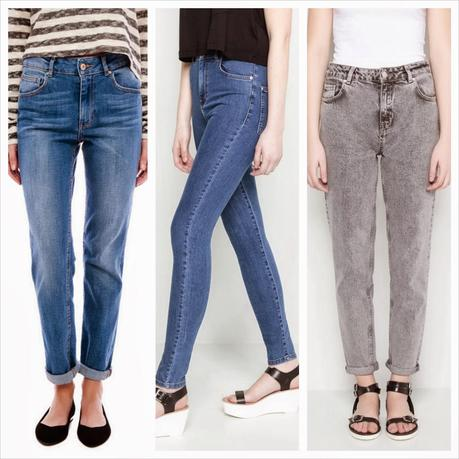 Vaqueros de tiro alto (High Rise Jeans) - Paperblog