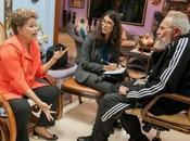 Fidel Castro Dilma Rousseff sostuvieron encuentro