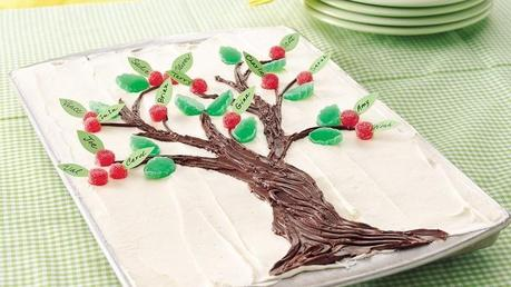 Como Decorar Un Arbol Genealogico.Arbol Familiar Comestible O Como Decorar Un Pastel