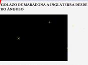 """""""inédito"""" nuevo vídeo Maradona Inglaterra, publicado aquí hace tres años"""