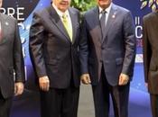 Danilo Medina recibido Raúl Castro