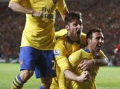 Arsenal logró pasar empate
