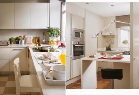 Ideas para cocinas sin comedor integrado paperblog for Cocina comedor integrados