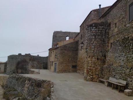 Parte de la Muralla con el mirador