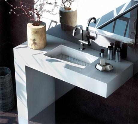 Todo lo que debes saber sobre los lavabos con encimera silestone paperblog - Encimera bano silestone ...