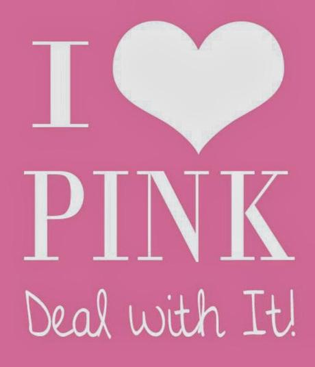My color: pink!