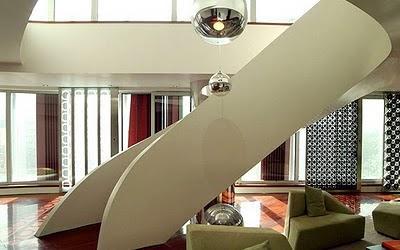 Escalera posmoderna paperblog Escaleras residenciales