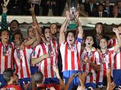 Agüero, Atlético venció Inter obtuvo Supercopa