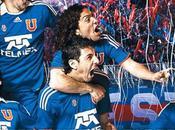 Nuevo uniforme Universidad Chile; temporada 2010-2011