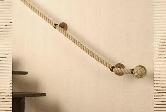 Un pasamanos hecho con cuerda paperblog - Pasamanos de cuerda ...