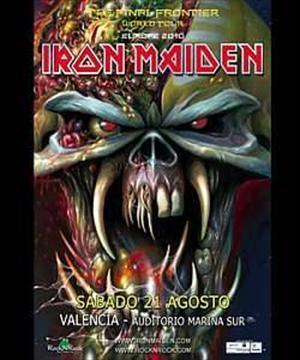 Iron Maiden cerró su gira en Valencia y 22 Strings estuvo allí