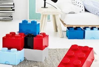Piezas lego gigantes para organizar la habitaci n paperblog - Piezas lego gigantes ...