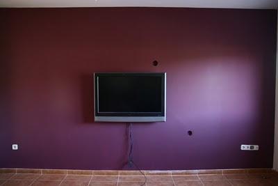 El color de nuestras casas la casa de carmen paperblog for Pintura color berenjena