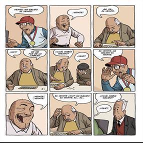 Un cómic, 'Arrugas', para conmemora el Día Mundial del Alzheimer