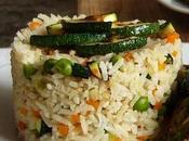 Ensalada arroz jamón guisantes