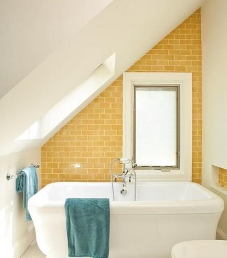Accesorios Baño Amarillo:11 hermosos baños amarillos – Paperblog