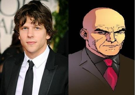 Jesse Eisenberg Será Lex Luthor En Batman Vs Superman