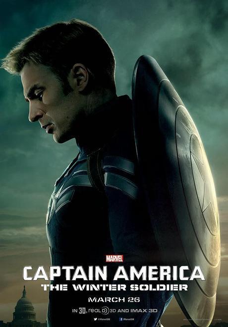 3 Nuevos Posters De Captain America: The Winter Soldier