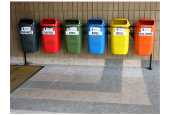 C mo reciclar los residuos s lidos paperblog - Colores para reciclar ...