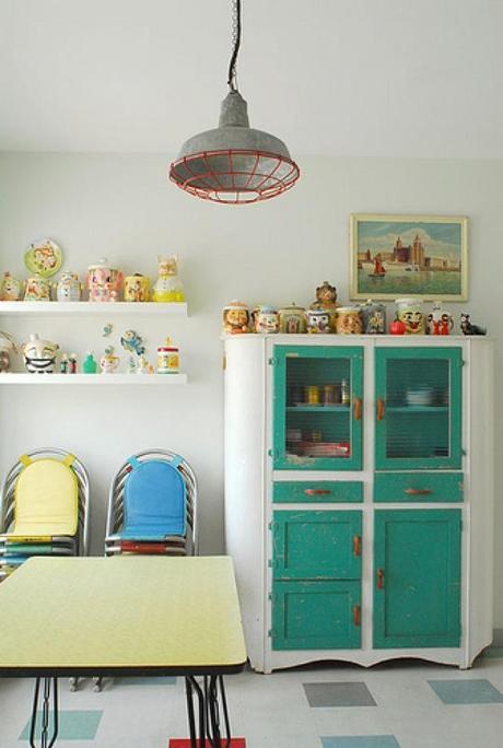 Novedosas cocinas estilo vintage paperblog - Muebles de cocina estilo vintage ...