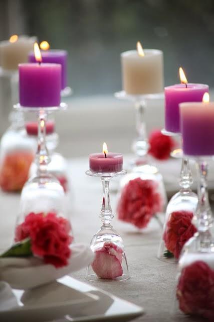 Tres decoraciones de mesa para san valentin paperblog for Decorar mesa san valentin