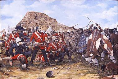 Irlandeses en Isandhlwana (Sudáfrica, 1879)
