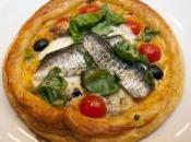 Hojaldritos sardinas cebolla caramelizada. Nutrición recetas Cantabria