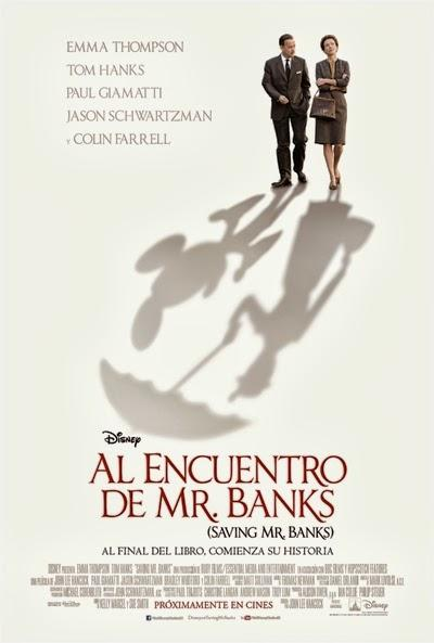 Póster: Al encuentro de Mr. Banks (2013)