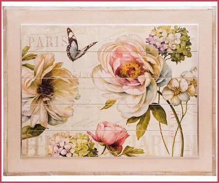 Rosas shabby chic paperblog - Cuadros shabby chic ...