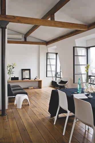 Estilo n rdico industrial en negro y madera paperblog for Dormitorio estilo nordico industrial