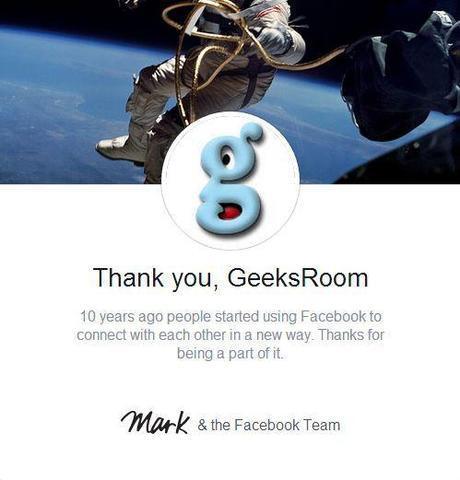 Celebrando sus 10 años de vida, Facebook y Mark Zuckerberg te regalan un hermoso vídeo con tus fotos