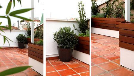 Ticos jardines terrazas urbanismo comunidades pictures to - Diseno de terrazas aticos ...