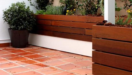 jardin de diseo en atico diseo de jardn u huerto urbano para la terraza de