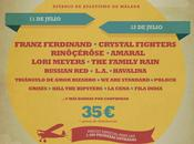 Festival Confirma Franz Ferdinand, Lori Meyers, Crystal Figthers, L.A, Havalina...