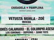 Tres Sesenta Festival: Amaral, Andrés Calamaro, Vetusta Morla, Zoé, Columpio Asesino, Izal...