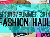 Spring/summer 2014 fashion haul