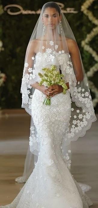 Vestidos de novia con su velo