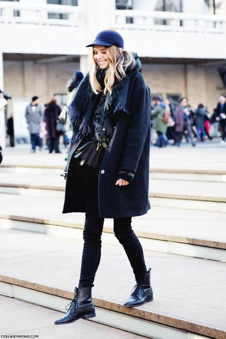 New_York_Fashion_Week-Street_Style-Fall_Winter-2015-Stripes_Fur_Coat-White_Boots-Candela_Novembre-