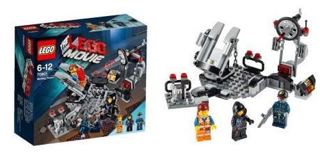 La sala de fusión juguete de La LEGO Pelicula