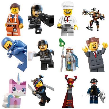 Minifiguras de juguete la Lego Pelicula