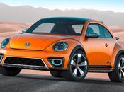 Volkswagen presenta beetle dune aspecto off-road