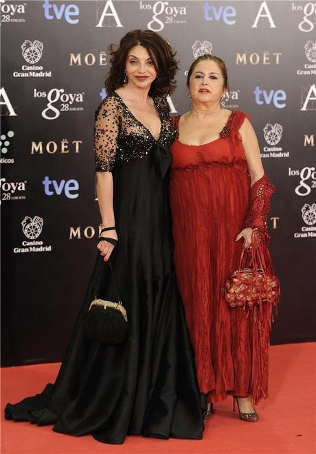 Peor Vestidas Goya 2014