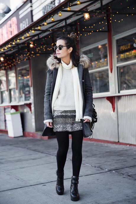 Sequins_Skirt-Duffle_Coat-Boots-New_York_Fashion_Week-Street_Style-NYFW-Outfit-23