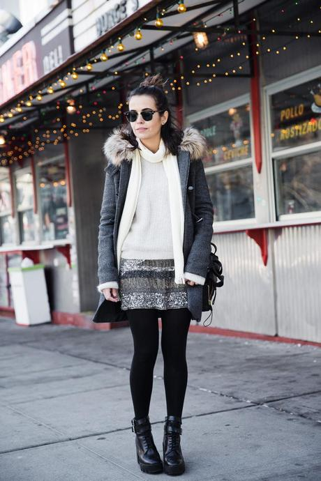 Sequins_Skirt-Duffle_Coat-Boots-New_York_Fashion_Week-Street_Style-NYFW-Outfit-25